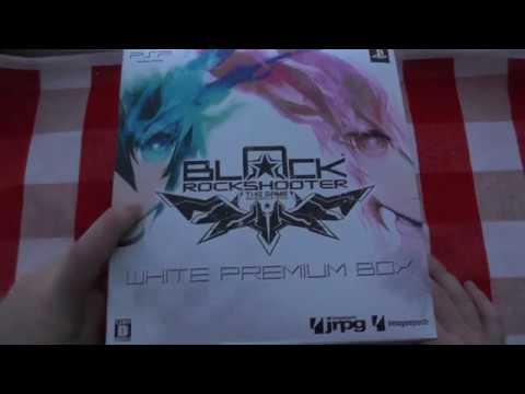 Игра Black Rock Shooter лимитка с фигуркой [PSP] - Что внутри