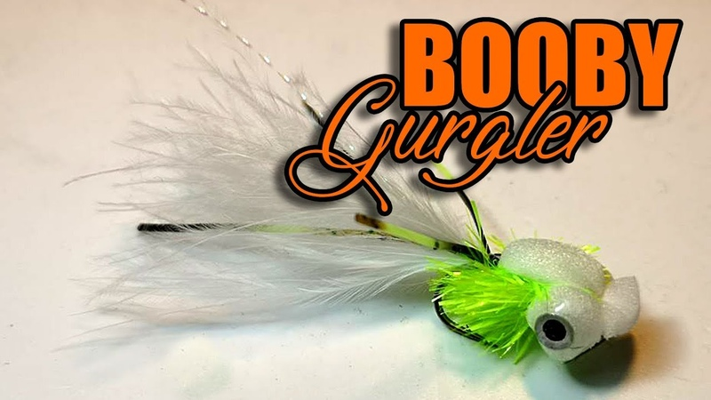Winter Rainbow Trout Fly | Booby Gurgler | Trout Lure