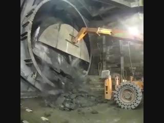 Бурение тоннеля
