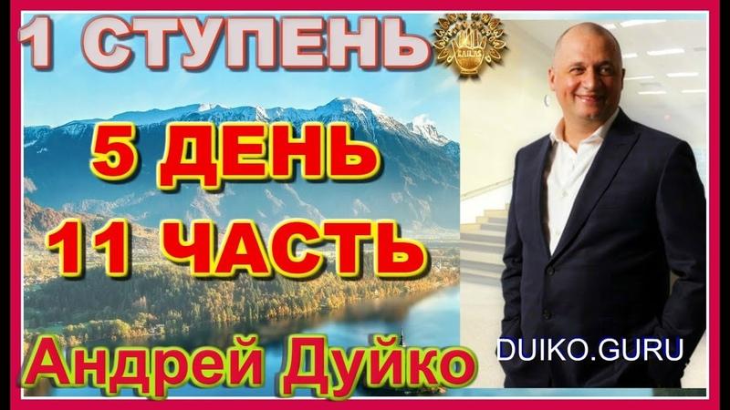 Первая ступень 5 день 11 часть. Андрей Дуйко видео бесплатно | 2015 Эзотерическая школа Кайлас