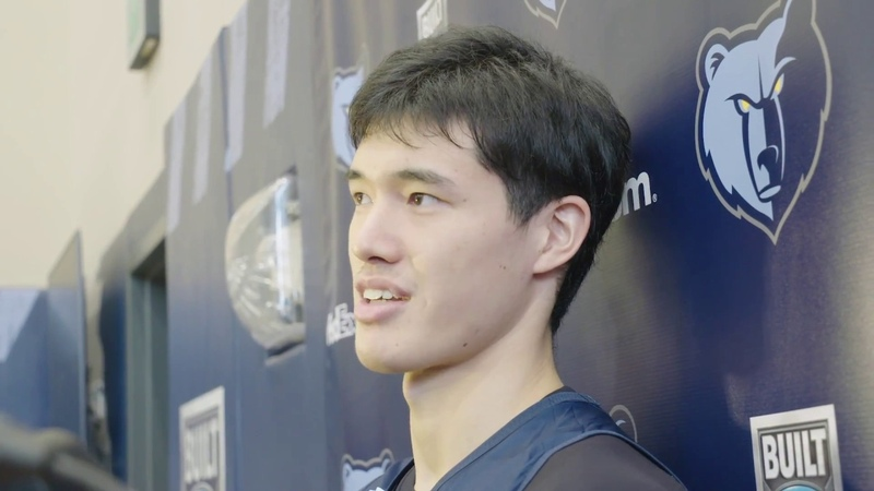 Yuta Watanabe's Improvement and Personal Goals | Training Camp Day 1 Interview