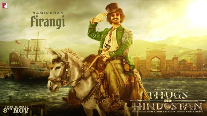 Firangi %7C Aamir Khan %7C Thugs of Hindostan %7C Motion Poster %7C Releasing 8th November 2018
