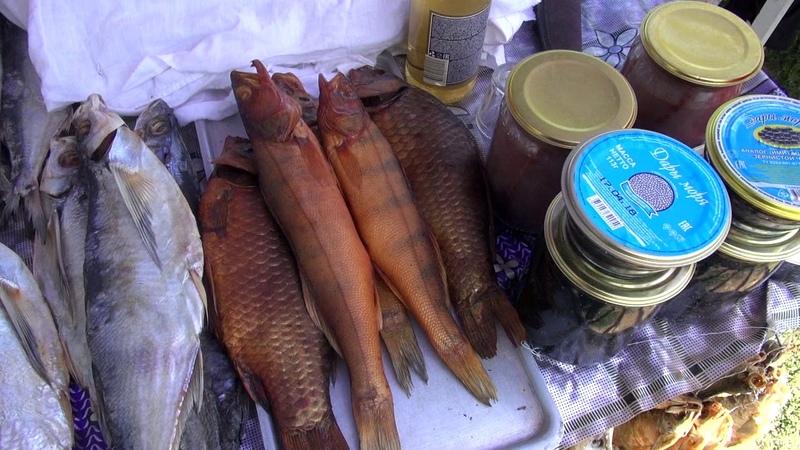Астрахань. Сколько стоит вино и рыба на рынке 2. Стоимость черной икры. Поддельная икра