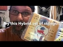 Hybrid string set 8-42, ThomasVinci strings, made in USA, perfect for 21 fret scalloped guitars