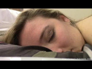 Hot college girl dominated, throat fucked, broken part 2