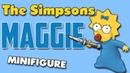 Мэгги Симпсон Минифигурка Лего Обзор минифигурки Мэгги Симпсон Lego Minifigure Maggie Simpsons