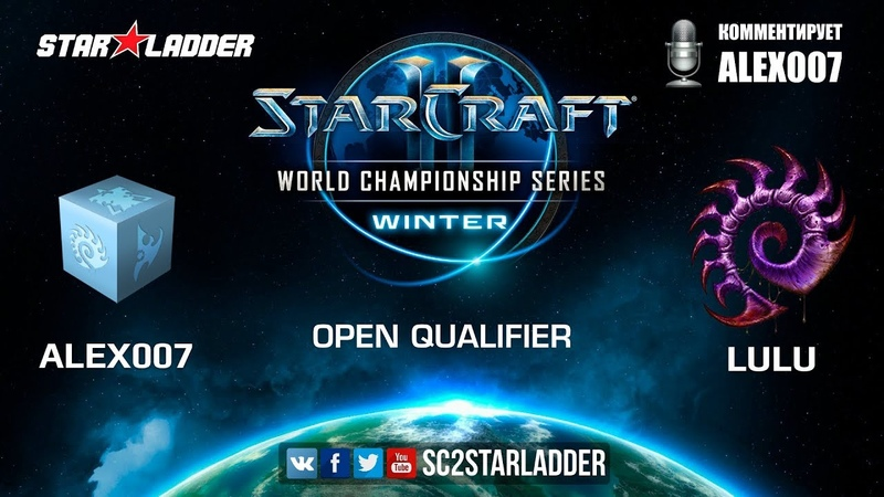2019 WCS Winter Open Qualifier 1 Match 3 Alex007 R vs LULU Z