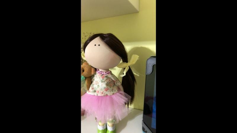 Текстильные куклы MIZI DOLLS — Live
