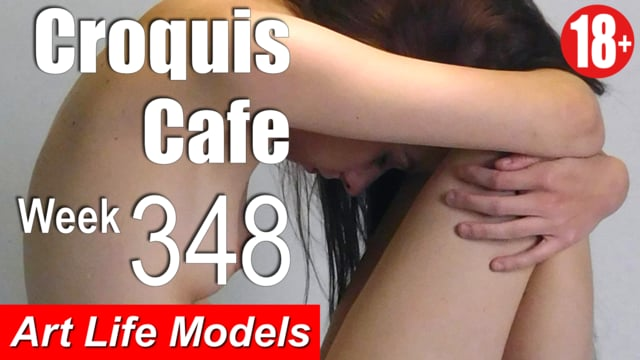 Croquis Cafe Figure Drawing Resource No. 348 (Figuary Announcement)