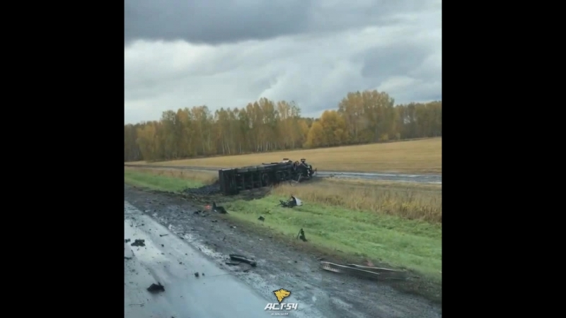 Авария на Ленинск Кузнецкой трассе