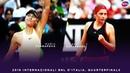 Maria Sharapova vs. Jelena Ostapenko 2018 Internazionali BNL dItalia Quarterfinals