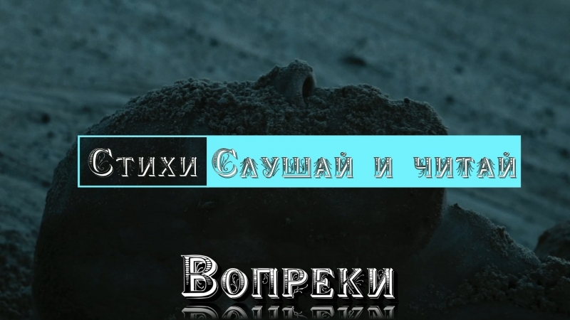 Вопреки стихи poems слушайичитай despite костыль crutch сон sleep