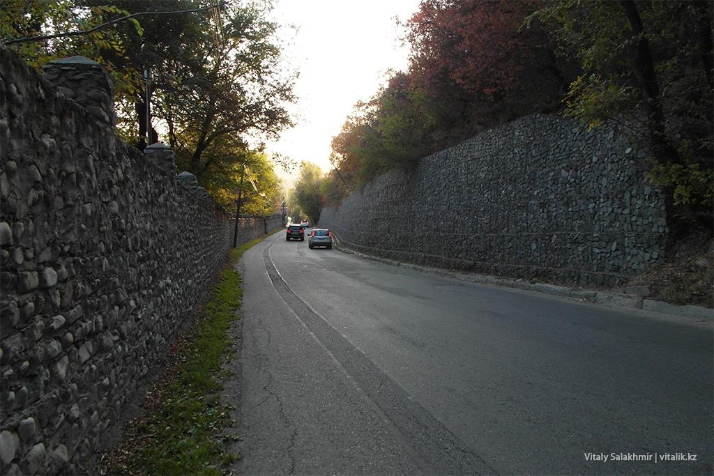 Забор из габионов, Алматы, Бутаковка