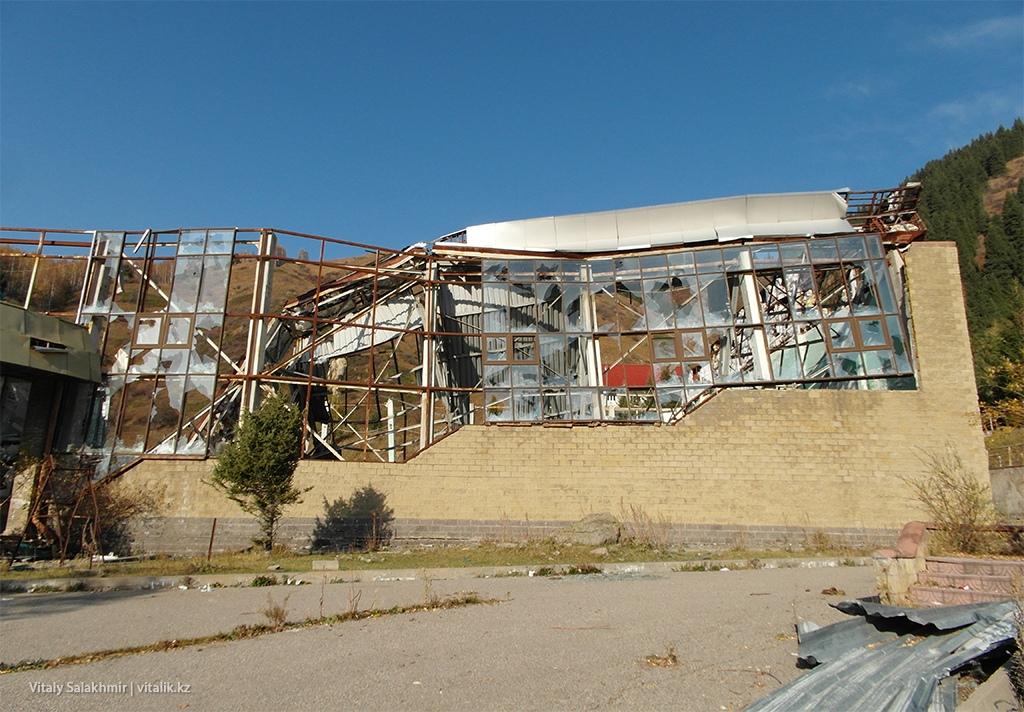 Заброшенное здание, Бутаковское ущелье