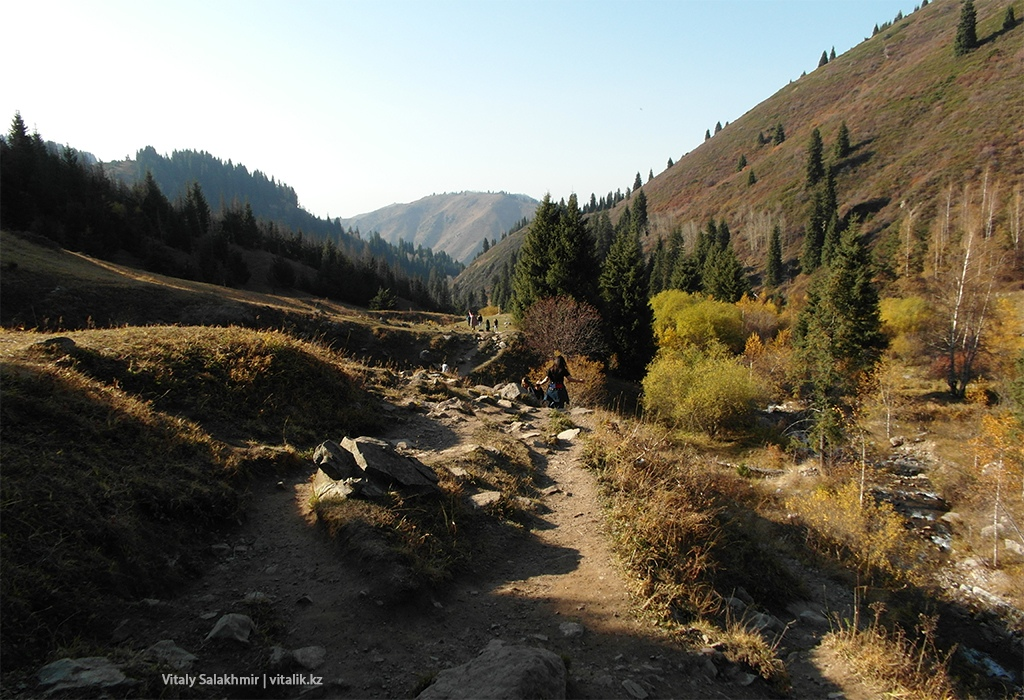 Осенние виды Бутаковского ущелья
