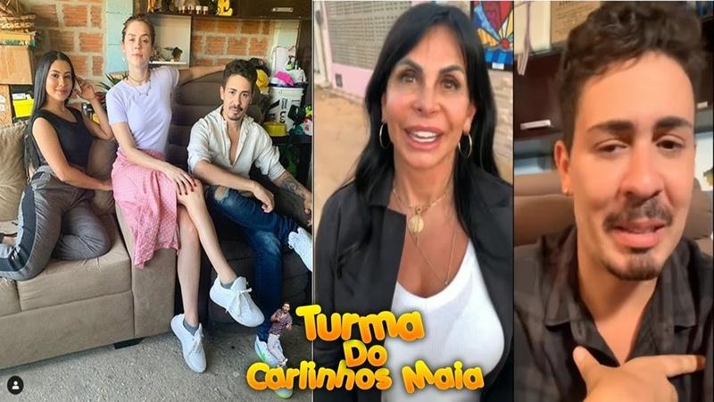 Taynara OG, Shofia Abrão e Gretchen visitam a vila do Carlinhos Maia 👑