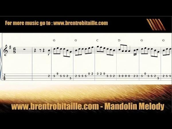 Mandolin Tab Guitar Chords Notes A Visit to Ireland Celtic Jig