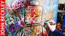 Pop Art Painting of a Lego / Street Art / Abstract Art   Noa