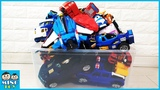 Box full of toys Hello Carbot Tobot Miniforce X Robot Train Transformers for kids