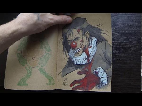 Мой sketchbook 2018-19 г.