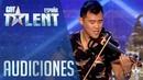 Javi Lin y su violín   Audiciones 3   Got Talent España 2016