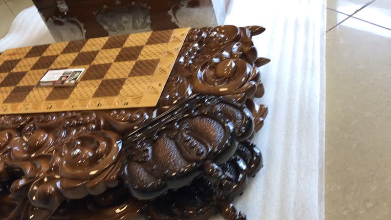 Видео обзор Шахматы-Нарды «Корона 👑»