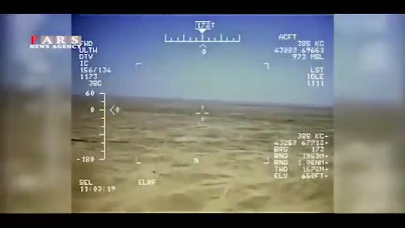 Работает РЭБ Ирана в Сирии и Ираке Иранцам удалось перехватить кадры с американских БПЛА