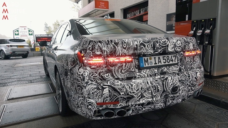 2020 ALPINA B7 SPIED TESTING AT THE NÜRBURGRING