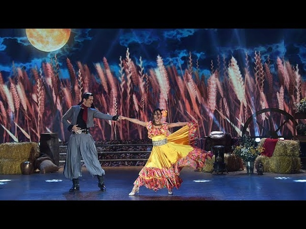 Lourdes Sánchez y Diego Ramos bailaron chacarera en la gala de Folklore