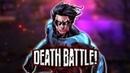 Nightwing Quadruple Flips into DEATH BATTLE