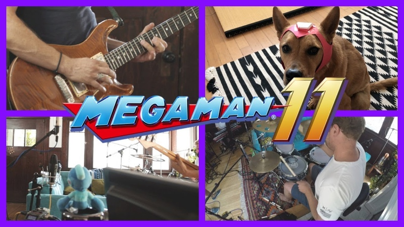 Mega Man 11 - Fuse Man | Live Cover by EXTRA LIVES