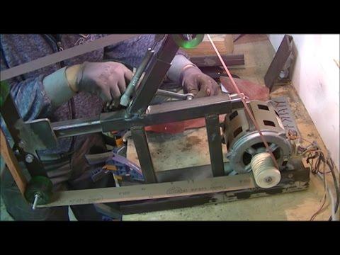🔨 Levigatrice a nastro M.M.45 in ferro fai da te ( homemade Belt Grinder ) DIY 1 PARTE