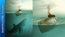 Photoshop Photo Manipulation Tutorial Boy Shark Under Water Scene