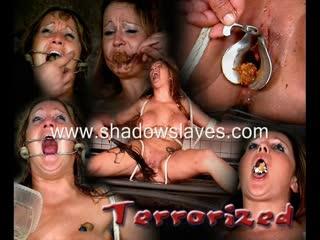 Shadowslaves - terrorized, bdsm, bondage, electro torture, punishment, spanking, whipping, wax, toys, orgasm, blowjob