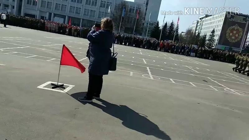 Подготовка к параду победы 2018. 27 Отдельная мотострелковая Севастопольская Бригада.