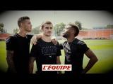 L'interviewle plus avecGriezmann, Hernandez et Lemar - Foot - Bleus