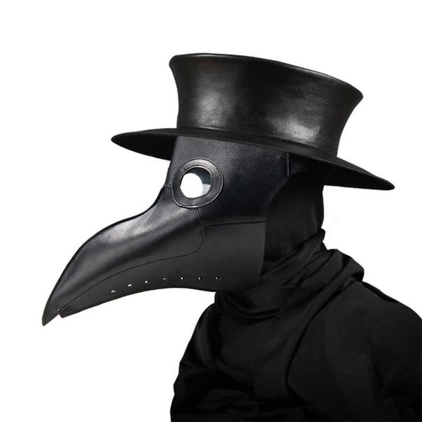 Зачем во время чумы доктора носили птичьи клювы