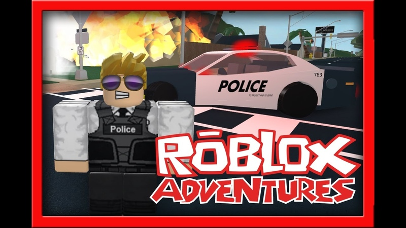 I AM THE POLICE!! ... | Roblox - Ultimate Driving 1