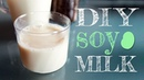 How To Make Soy Milk Easily At Home (with just 2 ingredients!)