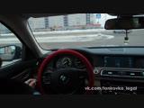 Съемная полиэфирная тонировка на BMW 7 (5)