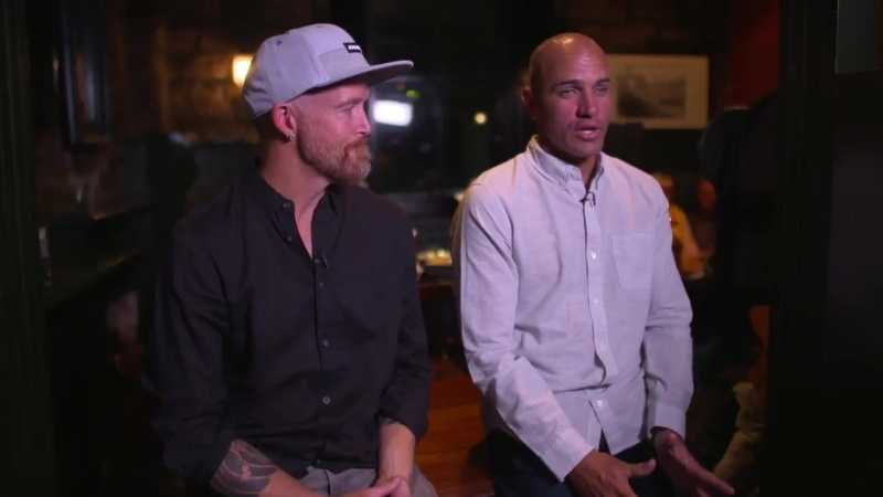 We caught up with Linkin Park bassist @phoenixlp and World Champion surfer @kellyslater in The Jigger Inn, to hear about their d
