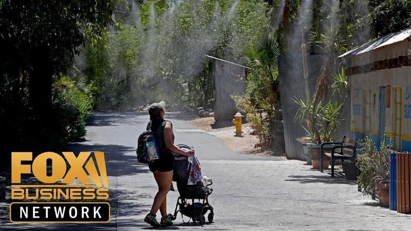 Intense heat wave posing serious health risks