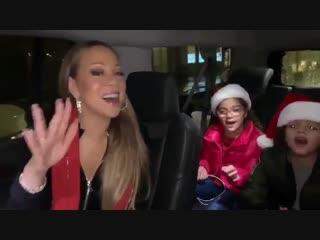 Мэрайя кэри учит детей бэк-вокалу «all i want for christmas is you»
