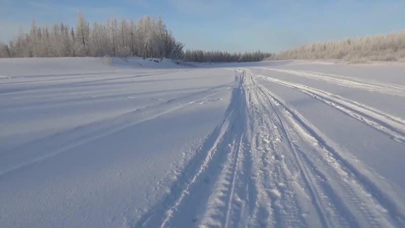 Прогулка по Февральской тундре. посёлок Пангоды Надымский район.