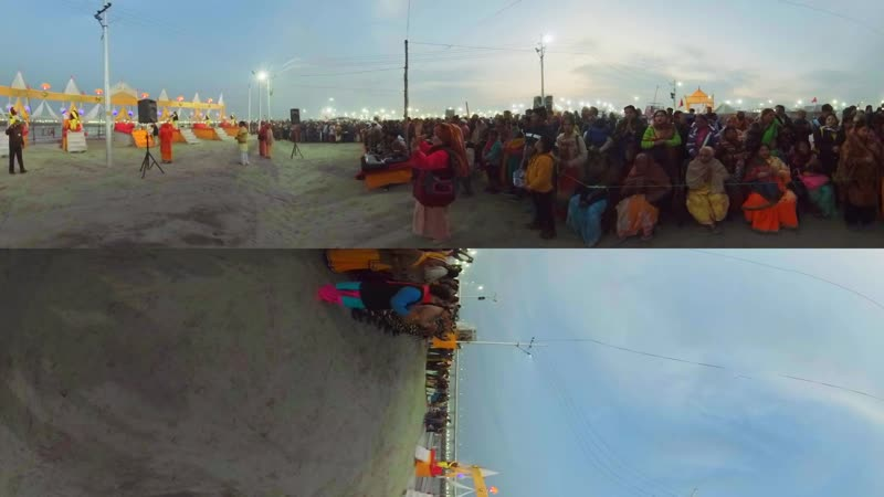 In 360 Kumbh Mela Finding your soulmate in the world's biggest crowd - BBC News