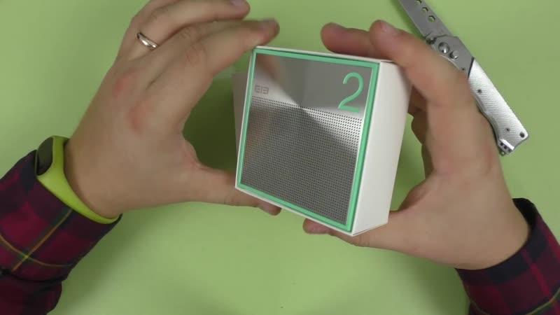 Bluetooth колонка Elephone ELE BOX мощная и стильная ► Посылка из Китая GearBest