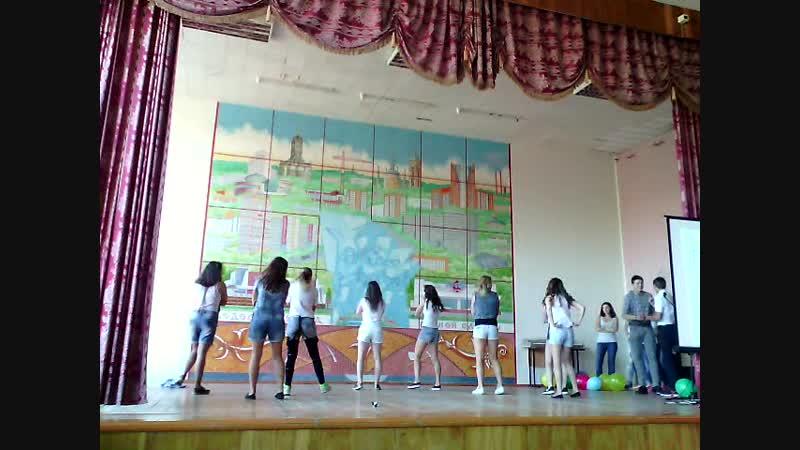 Танец гр.118, 2015, Посвящение в студенты