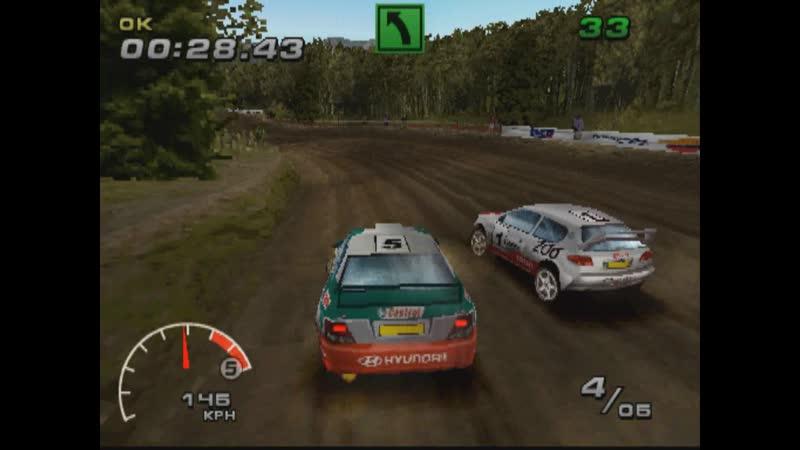 WRC FIA WORLD RALLY CHAMPIONSHIP ARCADE SUPER SPECIAL RANDOM3 HYUNDAI ACCENT WRC3 PS1 2002