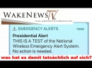 Presidential Alert - No action is needed