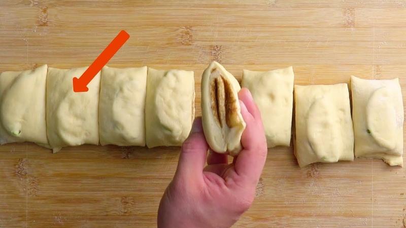Всего 2 яблока и тесто. Попробуем этот десерт? Обязательно!